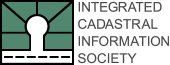 Integrated Cadastral Information Society Logo